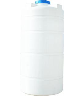 Емкость вертикальная круглая 100 л