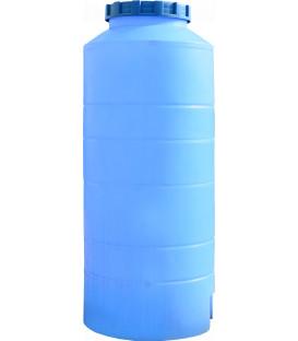 Емкость вертикальная круглая 300 л выс син