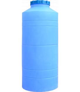 Емкость вертикальная круглая 500 л син
