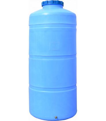 Емкость вертикальная круглая 750 выс син