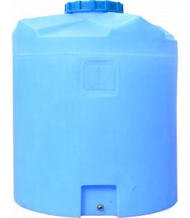 Емкость вертикальная круглая 750 низ син