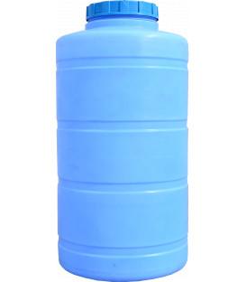 Емкость вертикальная круглая 850 л син