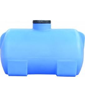 Емкость горизонтальная круглая 85 л син