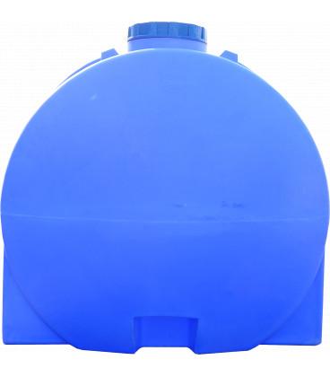 Емкость горизонтальная круглая 5000 л син